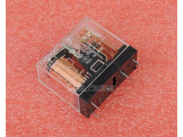 Omron Relay G2R-1-24VDC 5 Pin 10A/24v - Newegg.com on