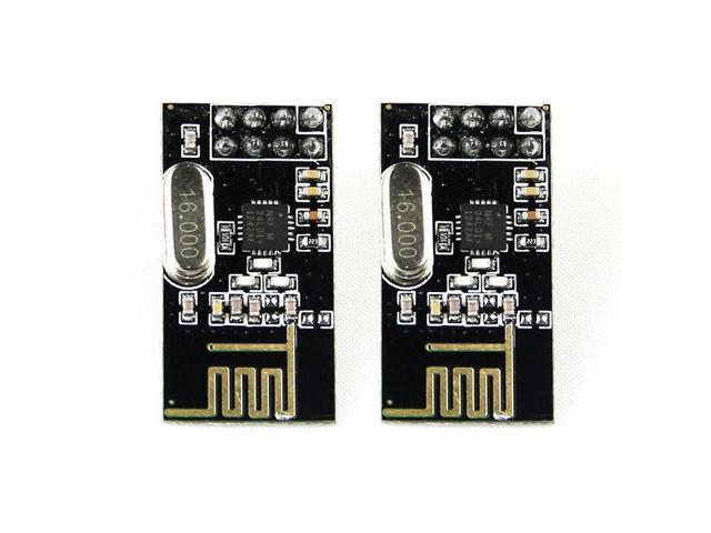 2pcs Arduino NRF24L01+ 2 4GHz RF Wireless Transceiver Module ISM Breakout -  Newegg com