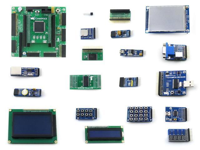 EP3C5 EP3C5E144C8N FPGA Development Board ALTERA Cyclone III Kit + 20  Modules - Newegg com