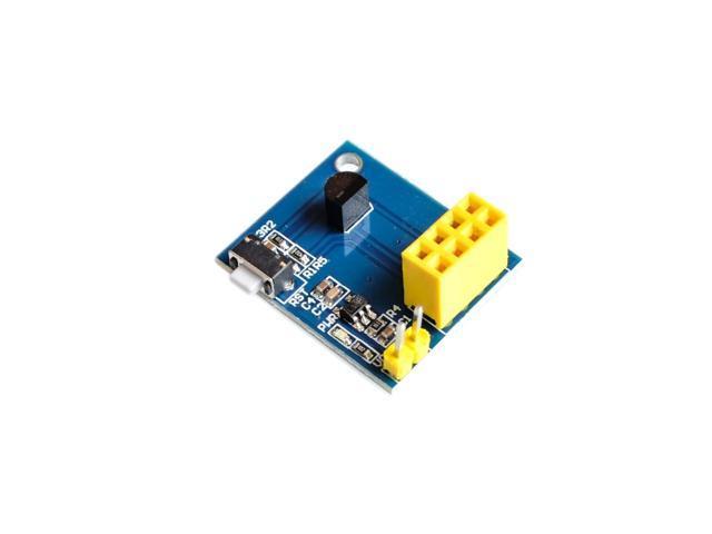 DS18B20 Temperature Sensor Module Shield for ESP8266 WiFi ESP-01 / ESP-01S  - Newegg com