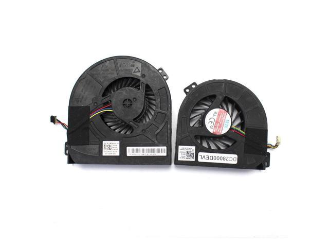 twins CPU GPU Cooling fans for Dell Precision M4800 00WGVF 02K3K7 -  Newegg com