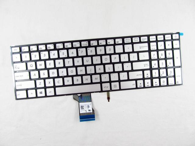 New Silver Asus ZenBook Pro UX501JW UX501VW Keyboard US No backlit