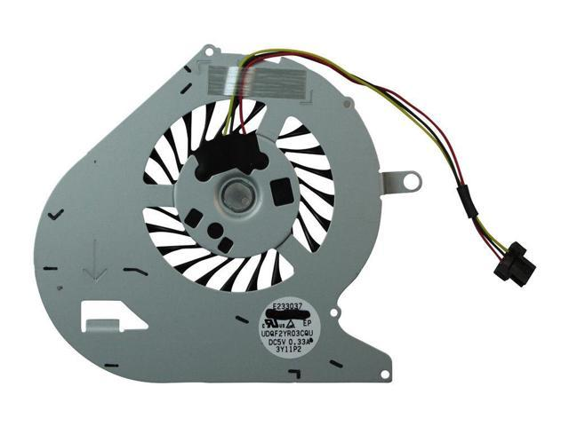 CPU Cooling Fan For Sony Vaio Fit SVF15N18SCP SVF15N190X SVF15N25CXB SVF15N25CXS SVF15N26CXB SVF15N28PXB SVF15N28SCS SVF15N290X SVF15N29SCB SVF15N29SCS SVF15N2ACXB Series Replacement