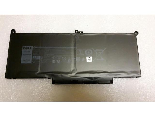 60Wh 7 6V F3YGT Battery for Dell Latitude 12 7000 7280 7480 Series Laptop  2X39G