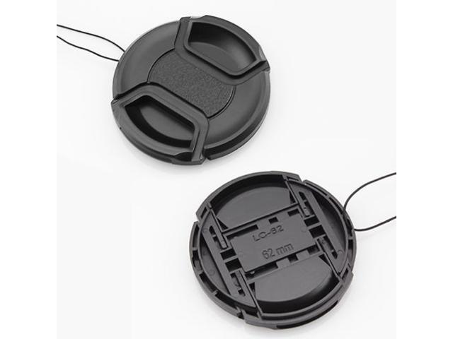 62mm Snap On Front Lens Cap Hood Cover For Nikon Tamron Sigma Sony Canon