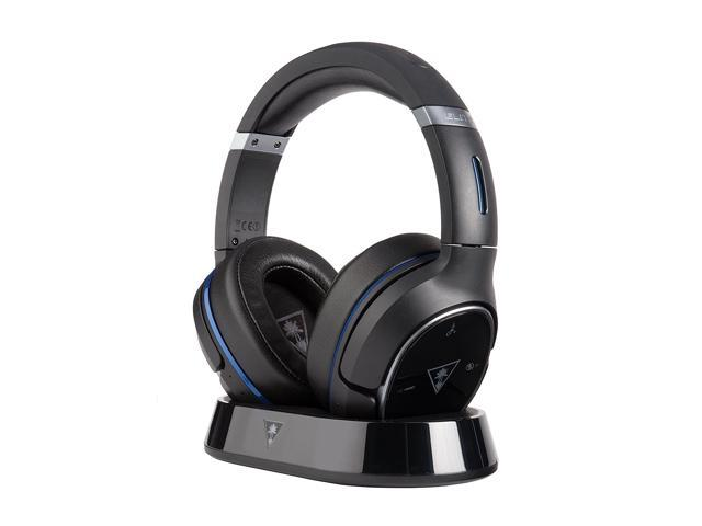 Turtle Beach Elite 800 Premium Wireless Surround Sound Noise Cancellation Gaming Headset For Ps4 Pro Ps4 Ps3 Black Newegg Com
