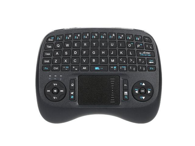 Wireless Mini QWERTY Keyboard with Backlit and Mouse Touchpad KP-810-21TL  for Android TV Box Raspberry HTPC Smart TV - Newegg com