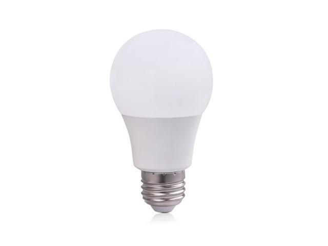 6 Pack 7w A19 E26 Led Light Bulbs Brightest 60 Watt Incandescent Equivalent
