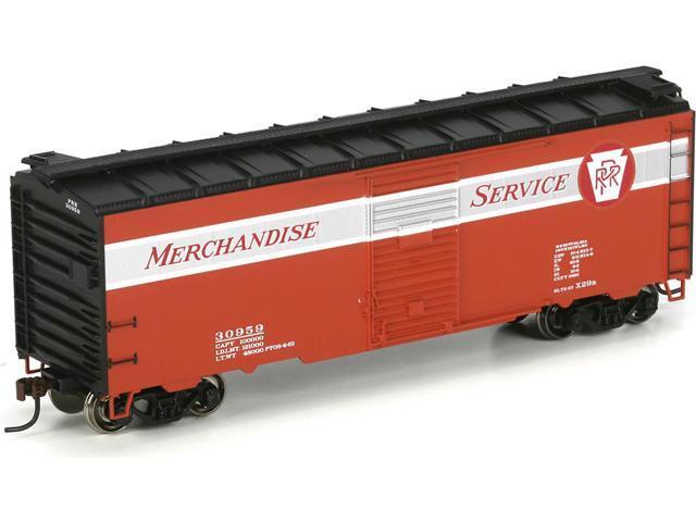 Athearn HO Scale 40' YSD Box Car Pennsylvania/PRR/Merchandise Service  #30959 - Newegg com