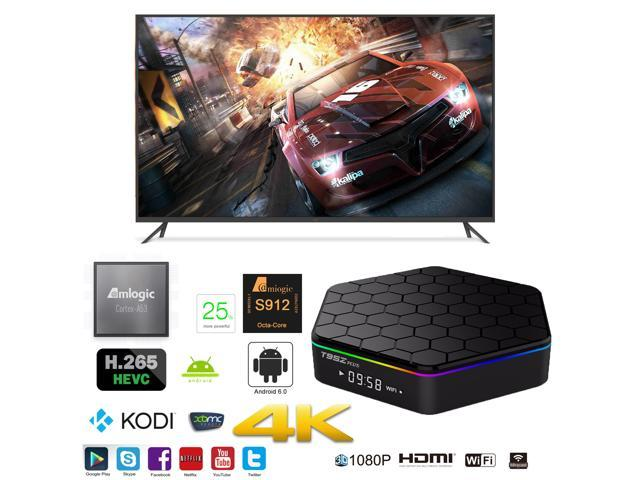 T95Z-Plus OTT IPTV Internet TV Box 4K Ultra HD Android 6 0 Octa Core 2 0GHz  RAM:2GB/ROM:16GB Network Media Player - Newegg com
