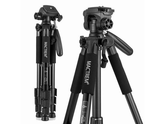 MACTREM M-PT55-Bk PT55 Travel Camera Tripod Lightweight ...