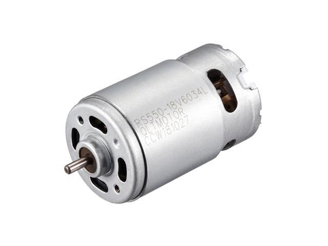 18V 20000RPM DC Motor for DIY Electric, Electronic Projects, Drills,  Robots, Remote Controlled Cars, Robot, Saw Repair, Replacement Engine -