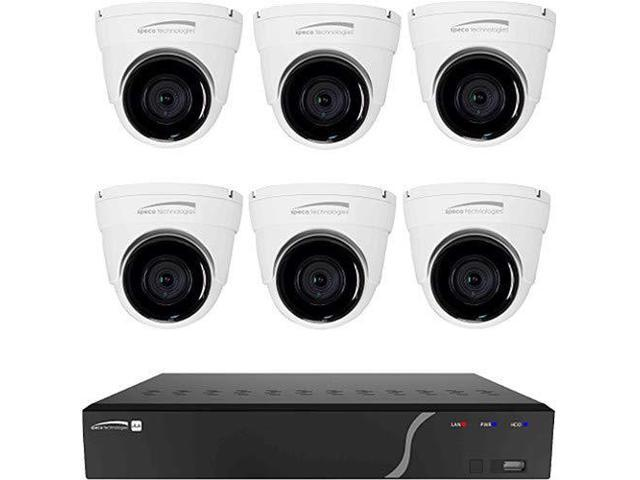 8 Channel 2 TB NVR and 6 Dome Camera Kit By Speco Technologies - Newegg com