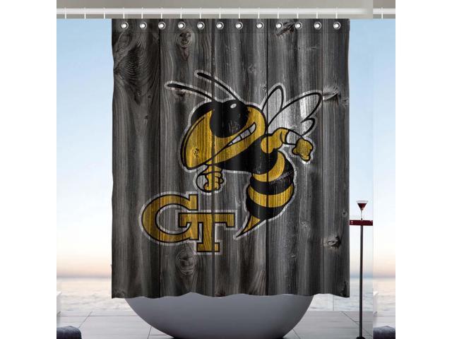 Georgia Tech Yellow Jackets 01 Design Polyester Fabric