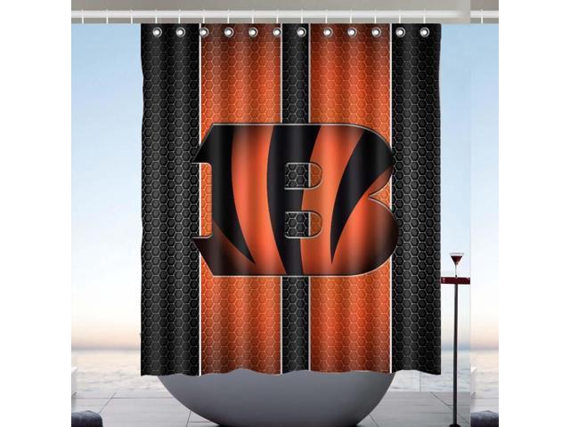 633f51af Cincinnati Bengals NFL 01 Design Polyester Fabric Bath Shower Curtain 60x72  Inch - Newegg.com
