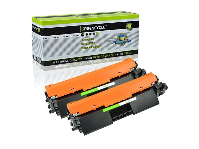 Black, 2 Pack GREENCYCLE Compatible for HP 30A CF230A Toner Cartridge Replacement for Laserjet Pro M203d M203dn M203dw MFP M227d MFP M227fdn MFP M227fdw MFP M227sdn Laser Printers with IC Chip