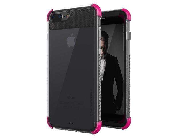 free shipping 05955 29238 Ghostek Covert Ultra Slim Clear Case Compatible with iPhone 8 Plus & iPhone  7 Plus - Pink - Newegg.com