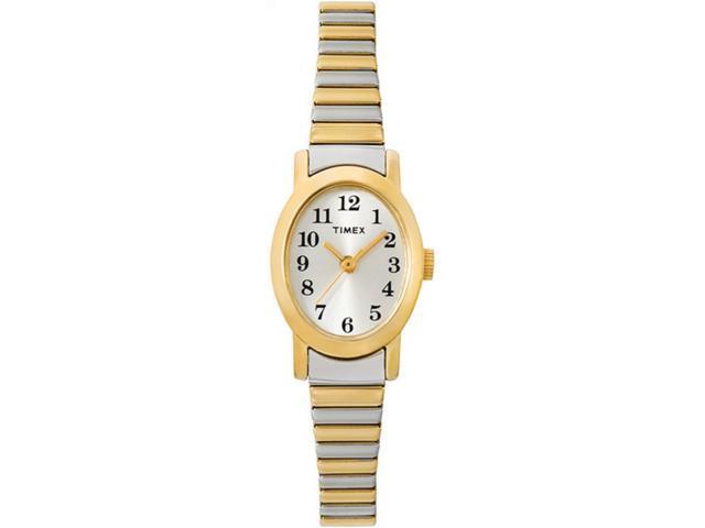 Timex Women's | Two-Tone Band Gold-Tone Case Quartz Cavatina Dress Watch T2M570