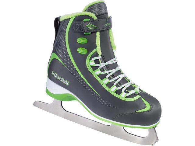 Riedell 615 Soar Soft Boot Recreational Ice Skates (Lime Girls)