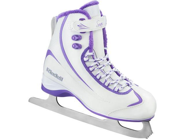 Riedell 625 Soar Soft Boot Recreational Ice Skates (Violet Ladies)
