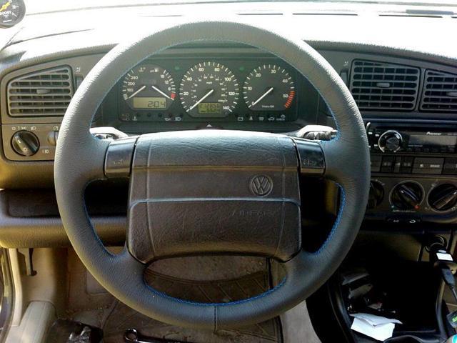 Volkswagen Passat B Steering Wheel Cover By RedlineGoods - Acura rsx steering wheel cover