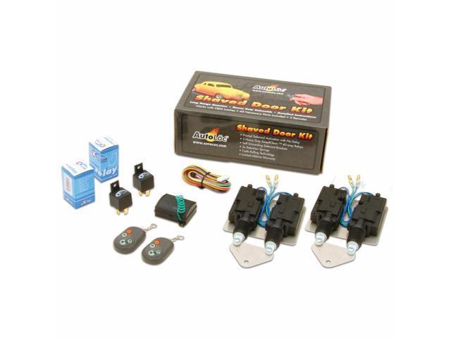 Shaved door kit remotes