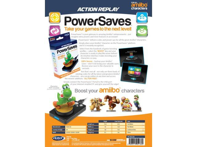 Datel Action Replay Powersaves for Amiibo Character Boost and Cheats -  Newegg com