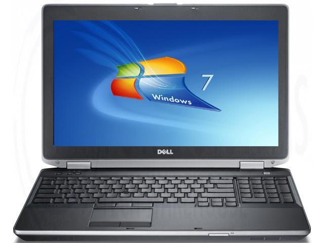 Refurbished: Dell latitude e6520 laptop computer, Intel Core i5, 2 5ghz,  8gb ram, 320gb hard drive, dvdrw, win7,1366x768,nvidia n12p-ns2 - Newegg com