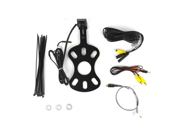 2007-Current Brandmotion 9002-8847 Jeep Wrangler Adjustable Rear Vision System for Factory Display Radios