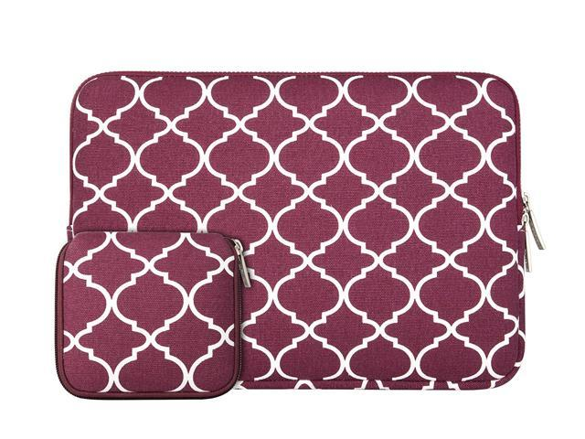 "Chromebooks Pink Quatrefoil Moroccan Sleeve Bag Case for All 11/"" Macbook Air"