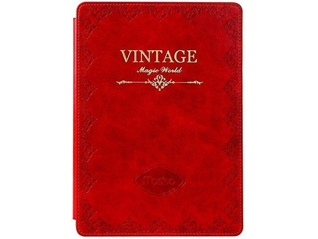 Mosiso - Red Classic Retro Book Style Smart Case for Kindle Paperwhite 3  (2015) and 2 - Slim-Fit Cover Case - Newegg com