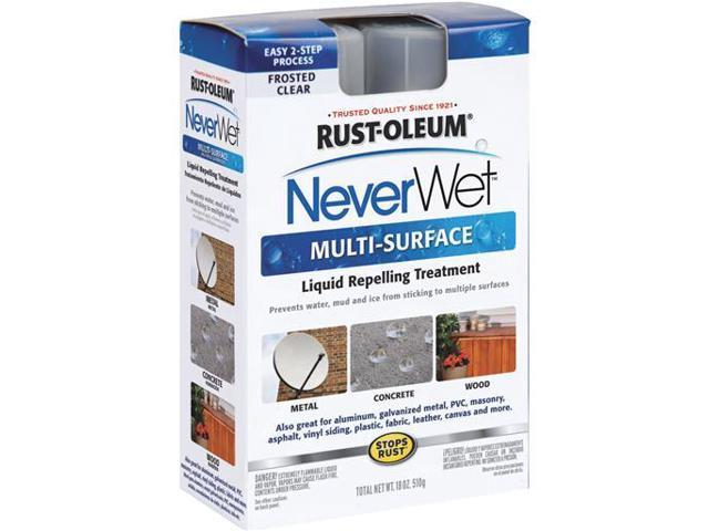 Rust-Oleum 275185 Never Wet 14-Ounce Industrial Size Multi Purpose Liquid  Repelling Treatment Kit - Newegg com