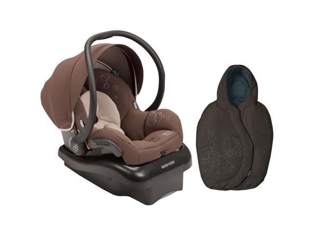 Maxi Cosi Mico AP Infant Car Seat Milk Chocolate With Footmuff Brown Earth