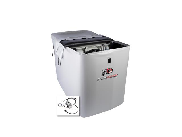 Powerblanket TH330DG 330-Gallon DEF IBC Tote Storage Heater with Adjustable  Thermostat Controller, Diesel Exhaust Fluid Heating Blanket - Newegg com