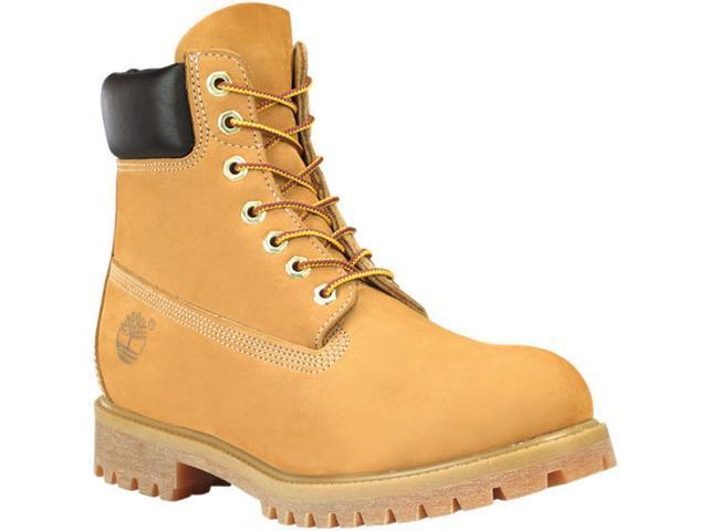 renomowana strona oszczędzać później Timberland 10061 Men's Classic 6-inch Premium Waterproof Boots, Wheat  Nubuck, Size 8 W US