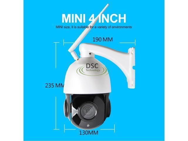 Wireless PTZ Onvif Speed Dome 1080P IP Camera WIFI Outdoor 18x Optical Zoom  CCTV Security Video Network Camera Audio Talk, Speaker, SD Card slot -