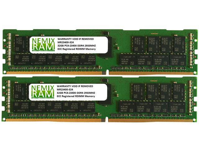 NEMIX RAM 32GB DDR4-2933 2Rx4 RDIMM for Intel R2308WTTYSR
