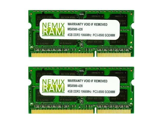 NEMIX RAM 8GB 2X4GB DDR3 Memory for Apple iMac 2009 - Newegg com