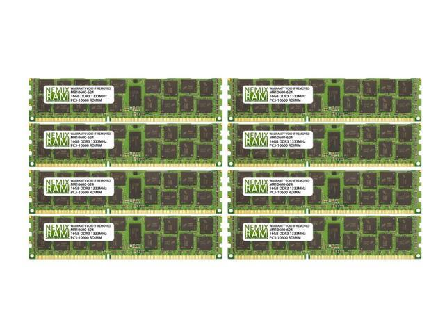 New Hynix  128GB 8X 16GB 2RX4 DDR3-1333MHz PC3L-10600R ECC Registered Server ram