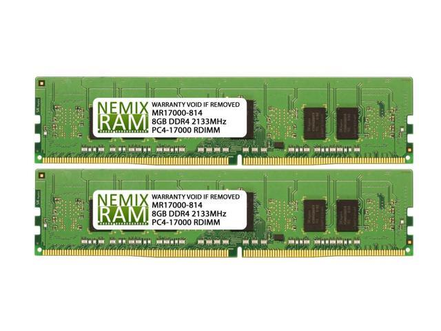 16GB Memory for Dell PowerEdge R830 DDR4 PC4-17000 2133 MHz RDIMM RAM PARTS-QUICK BRAND