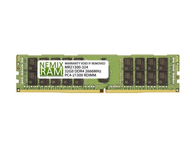 32GB Memory for Supermicro X10DRH-iLN4 Motherboard DDR4 PC4-2400 Registered DIMM PARTS-QUICK Brand