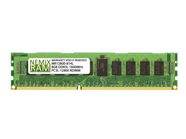 PARTS-QUICK BRAND 8GB DDR3 Memory Upgrade for Supermicro X9DAE Motherboard PC3L-10600R 1333MHz ECC Registered Server DIMM RAM
