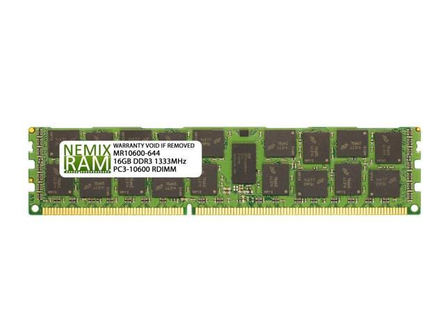 Samsung M393B2K70DM0-YH9 DDR3 16GB 10600R 1333Mhz 1.35v 4rx4 Server Memory Ram