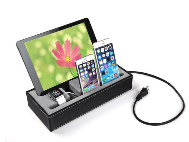 4 In 1 Multi Device Organizer For Le Watch Stand And Iphone Ipad Charging