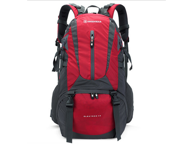 Swissgear Camping bag 40L High Capacity computer backpack travel ... a0bfca665a83c