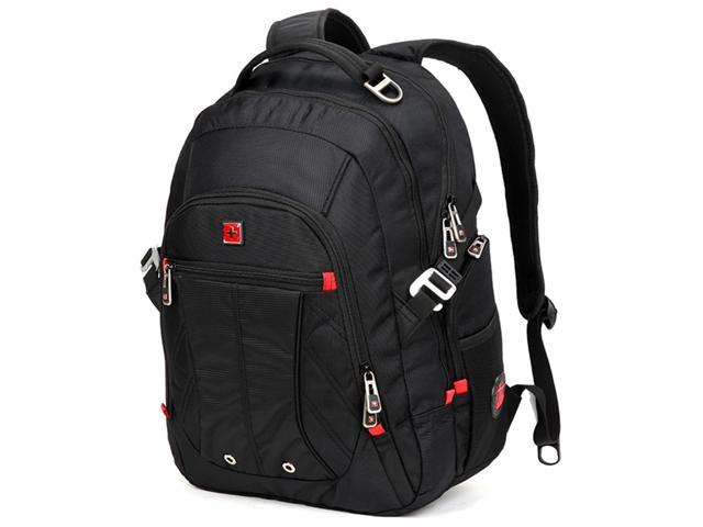 0cd9e94c06 Swisswin Men Laptop Backpack Mochila Masculina 15 Inch Man s Backpacks  Men s Luggage   Travel bags Sports