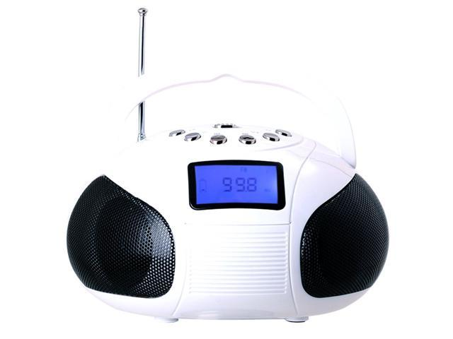 August Se20w Mini Bluetooth Mp3 Stereo System Portable Radio