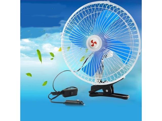 HAIMEI-WU Charging USB Belittled Fan Baby Stroller Student Desk Bedside Clip Electric Fan Handheld Soundless Portable Fan Mini Electric Fan Color : Gray