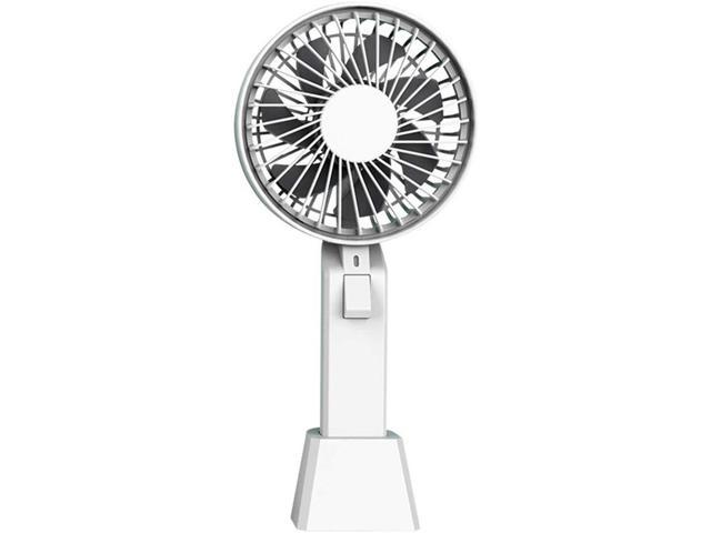 YANGYA Mini Handheld Desktop Fans Electric USB Table Portable Rechargeable Fan for Home Office Camping Outdoor and Travel-Pink