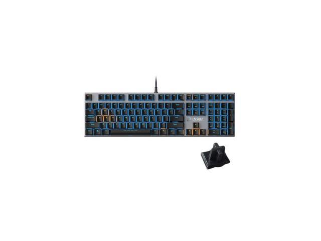 Blue//Red Key Axis Professional-Grade Backlit Desktop PC PUBG//LOL//APEX Gaming Peripherals Both Office and Game Computer accessorie Black Keyboard 87 Keys YNRx Mechanical Keyboard